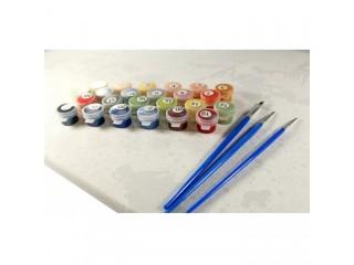 Засохли акрилові фарби для картини за номерами - корисні поради.